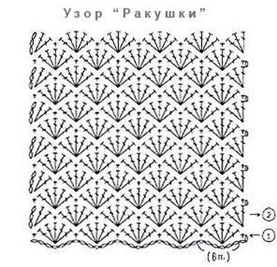 Крючком схема чехол для телефона