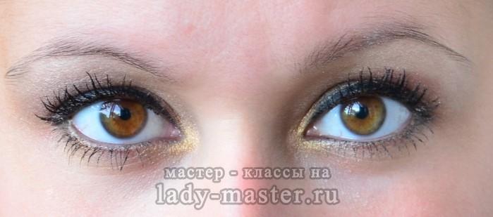 макияж в коричневых тонах пошагово