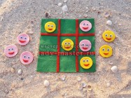 Игра для путешествий «Веселые смайлики»