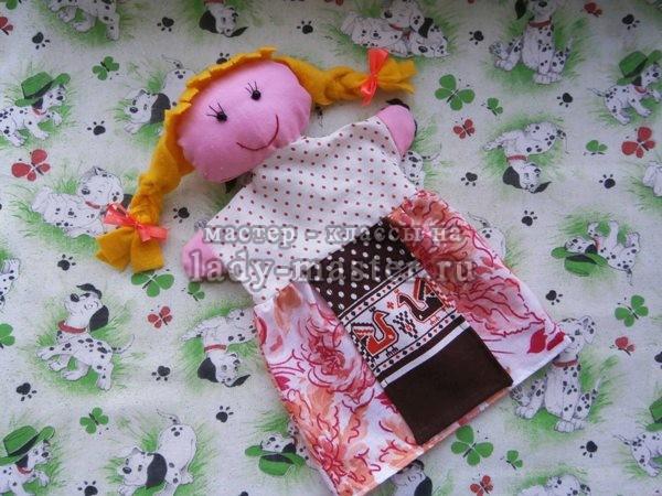 Кукла Маша для кукольного театра, фото