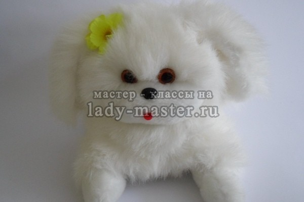 Мягкая игрушка собачка своими руками