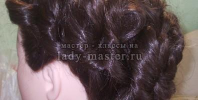 Вечерняя прическа на длинные и средние волосы за 10 минут. Мастер-класс