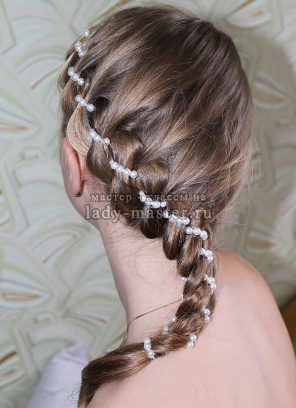 Коса из резинок: пошаговая техника плетения с фото