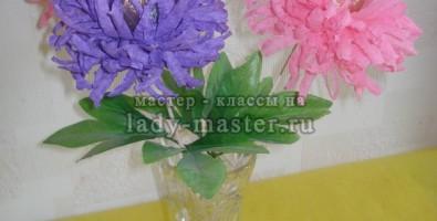 Сладкий букет из хризантем