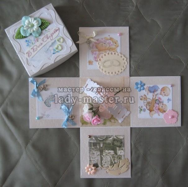 свадебные коробочки мастер класс, фото