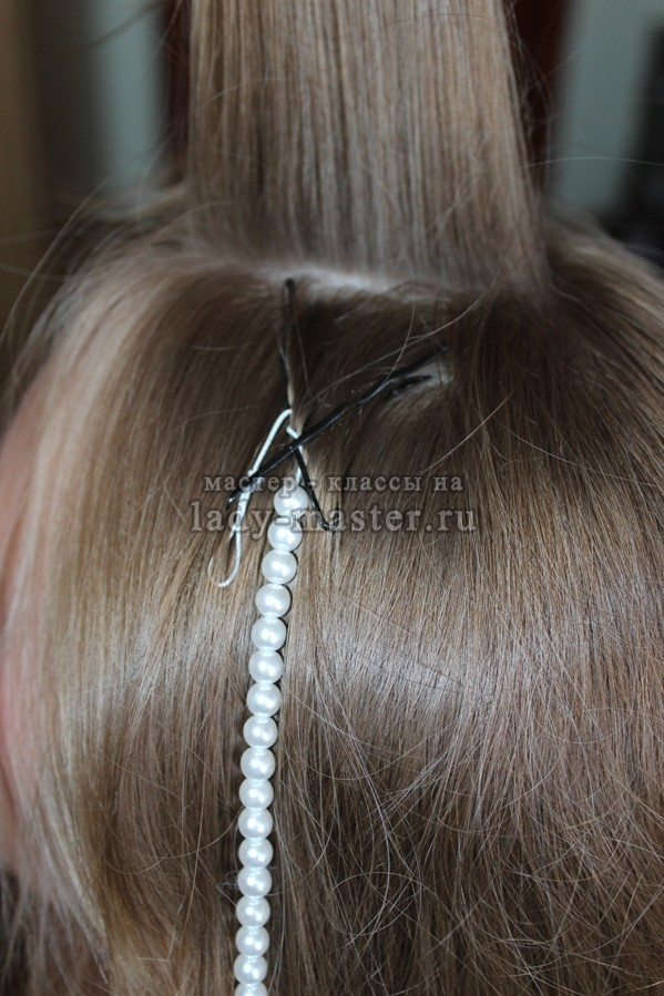 Плетём косы поэтапно