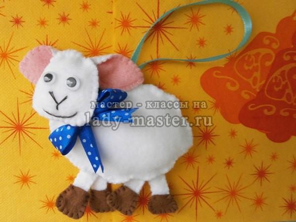 овечка своими руками мастер класс, фото
