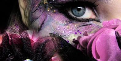 Макияж глаз «Орхидея» для фотоссесии