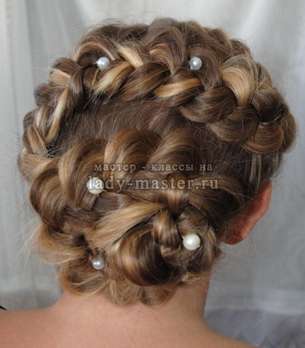 роза из волос прическа, фото