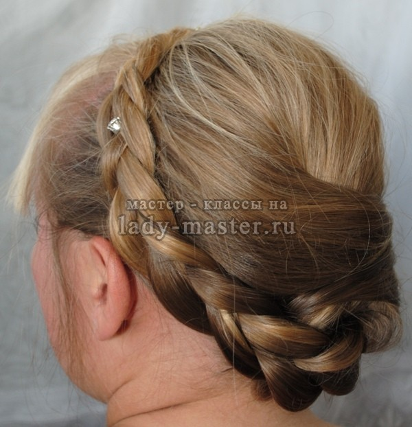 Мастер класс как сделать прическу на длинные волосы
