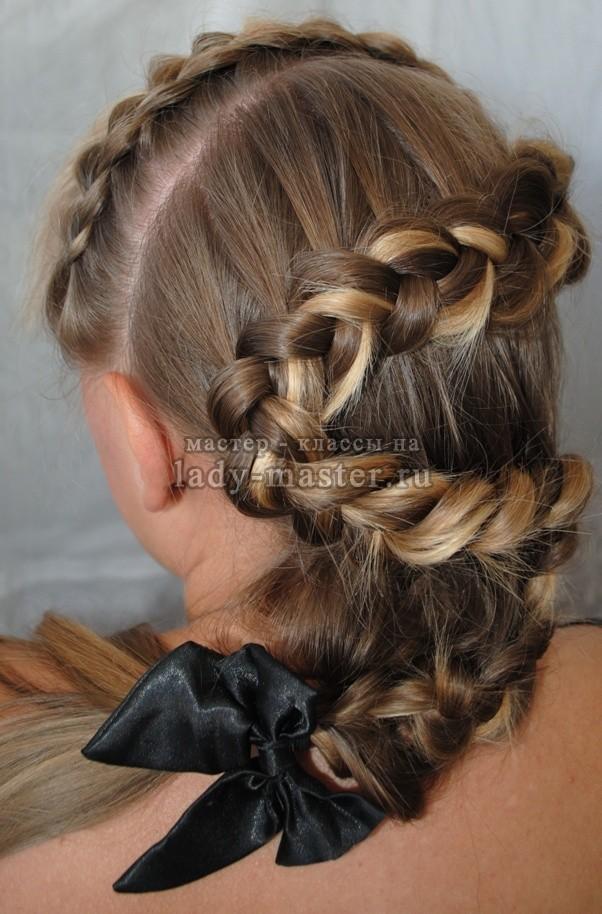 елочка коса фото