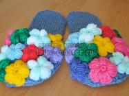 Тапочки «Цветочная поляна»