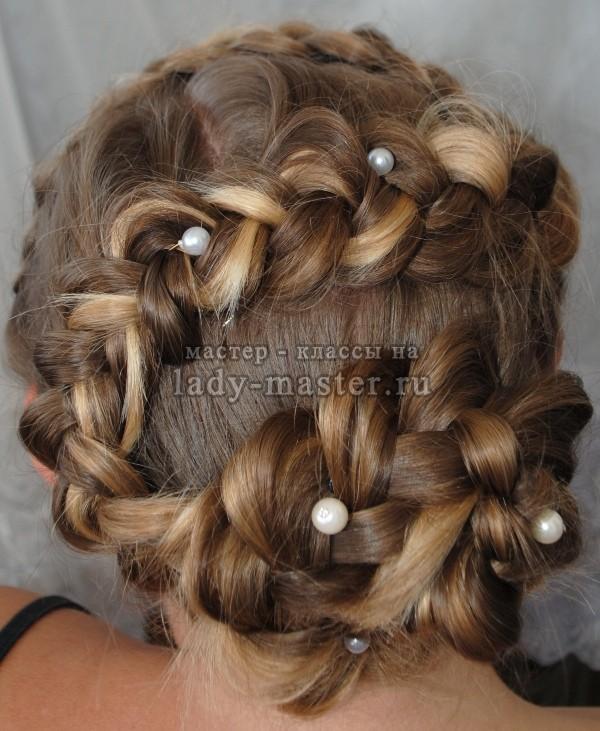 причёска роза фото