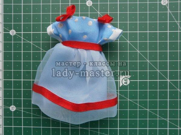 сшить платье кукле своими руками, фото