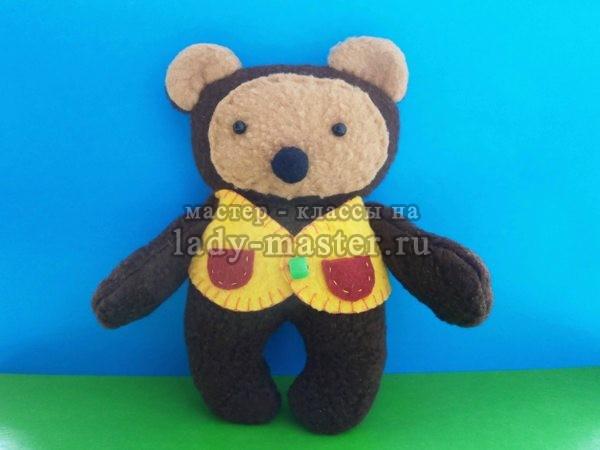 как сделать медвежонка своими руками, фото