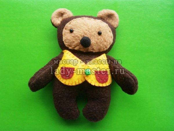медвежонок своими руками, фото