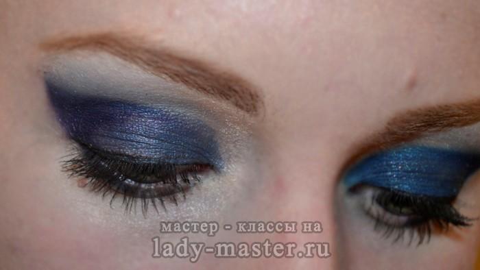 синий смоки айс, фото
