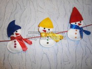 Гирлянда «Снеговички»