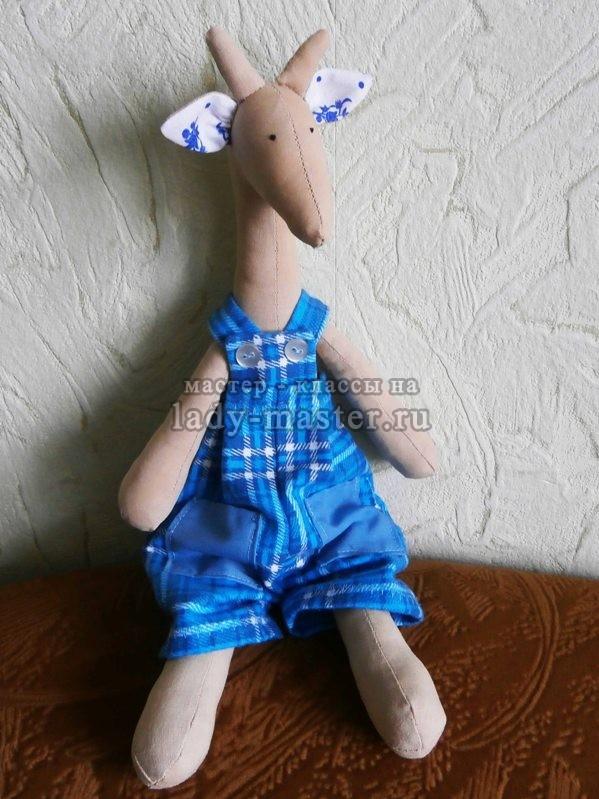 жираф тильда мастер класс, фото