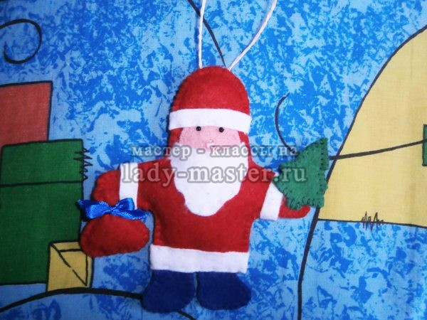 Елочная игрушка «Дедушка Мороз»