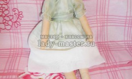 Кукла тильда «Принцесса» своими руками