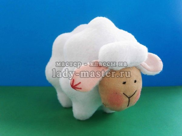 как сшить овечку тильду, фото