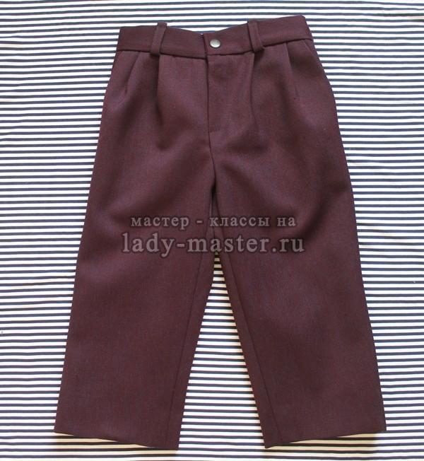 брюки для мальчика своими руками, фото