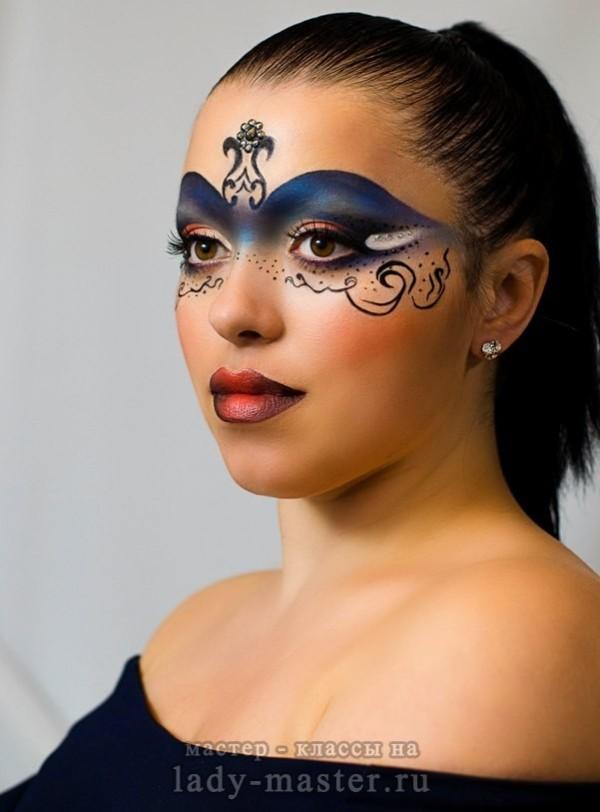 Карнавал макияж