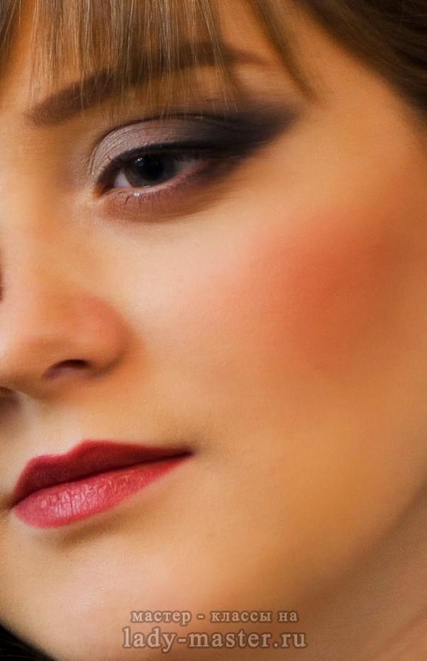 макияж для больших выпуклых глаз, фото