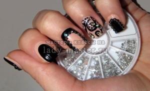 Удивите гостей в новогоднюю ночь неординарным дизайном ногтей «антифренч»!