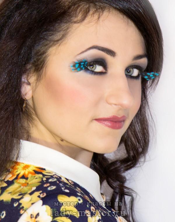 акварельный макияж, фото