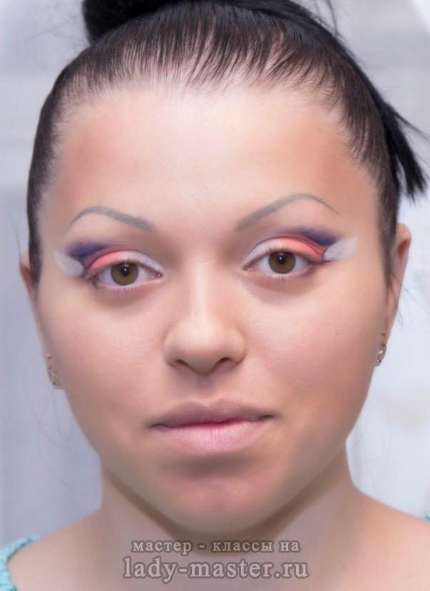 Карандашная техника в макияже фото и видео » Макияж 77