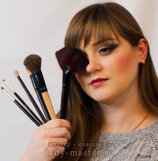 макияж для больших глаз, фото