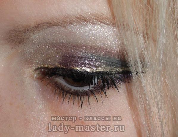 Клубный макияж, фото