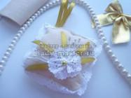 Игольница с ажурным цветочком