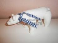 Интерьерная игрушка «Белый медведь»