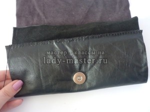 Как сшить кошелёк из кожи