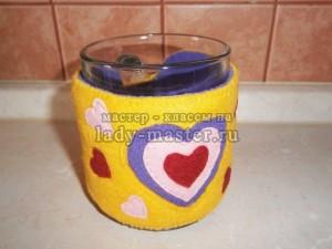 Наряд для чашки «Сердечное чаепитие»