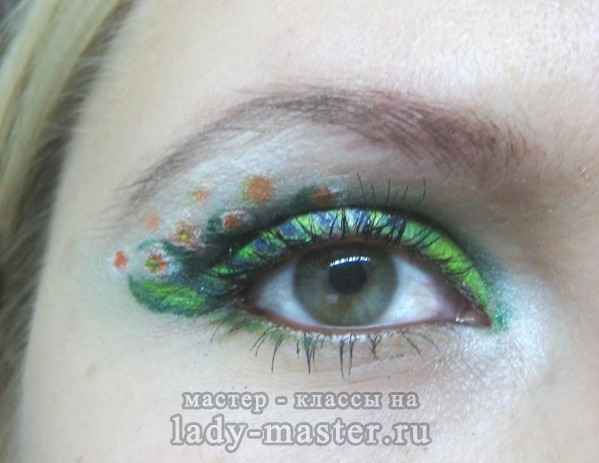 акварельная техника макияжа, фото