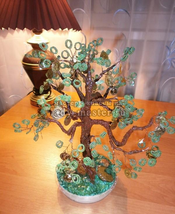 Денежное дерево своими руками инструкция
