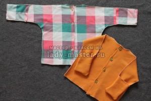 МК по пошиву рубашки для новорожденного на пуговицах