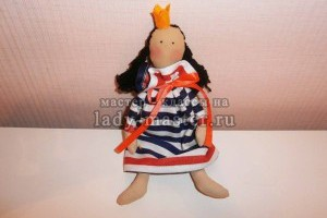 Интерьерная кукла «Принцесса на горошине»