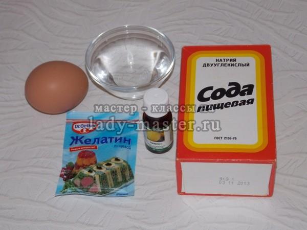 ингридиенты для домашнего шампуня, фото