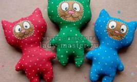 Мастер-класс по созданию кофейной игрушки «Кот в комбинезоне»