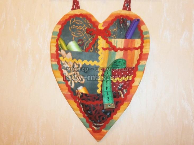 Органайзер для мелочей в форме сердца, фото