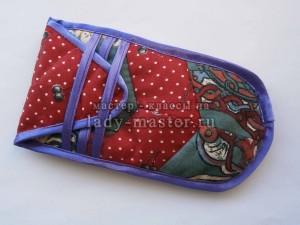 Текстильный чехол для очков