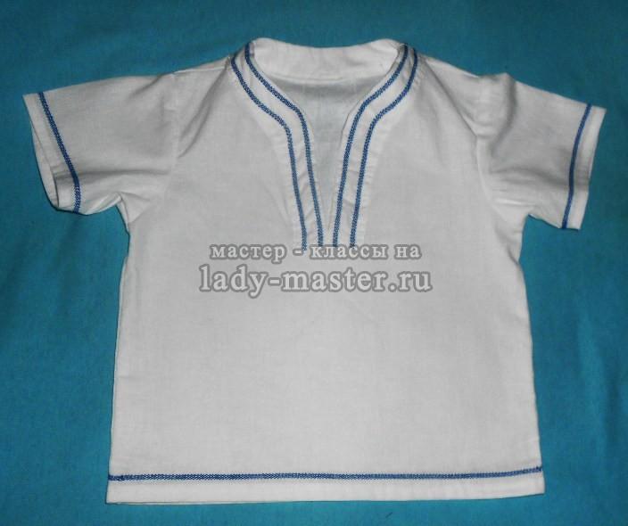 крестильные рубашки для мальчиков, фото