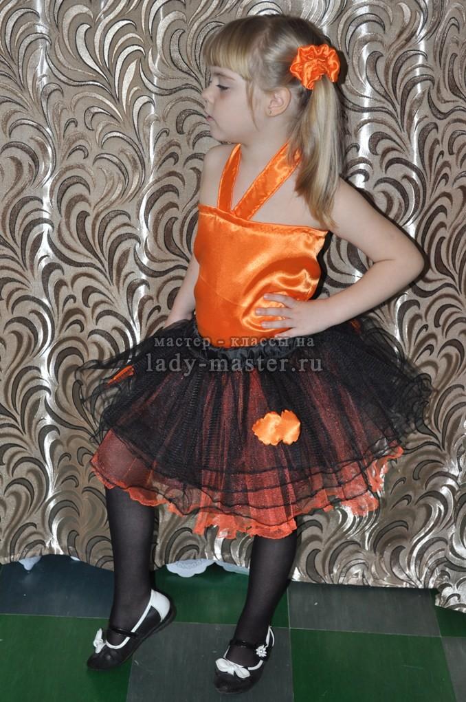 юбка - пачка и топик для девочки, фото