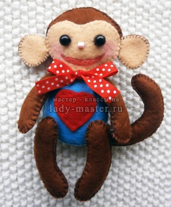 обезьянка своими руками, фото
