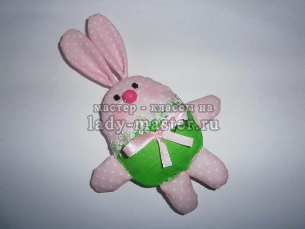 пасхальный кролик своими руками, фото